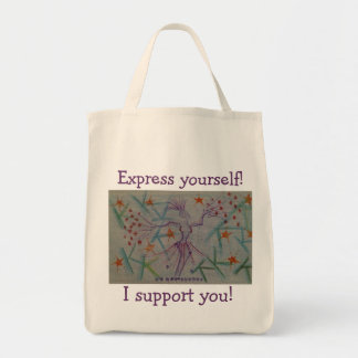 Tote for anyone who supports art and expression