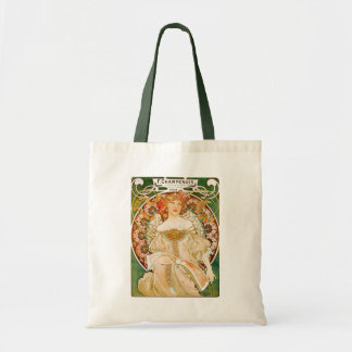 Tote:  Mucha - Champenois Tote Bag