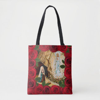 Tote Of Our Lady Of Lourdes