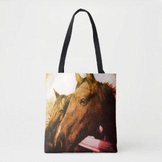 Tote - Orange Horse
