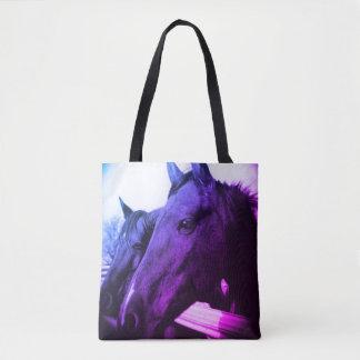 Tote - Purple Horse