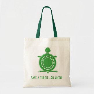 Tote- Save A Turtle Tote Bag