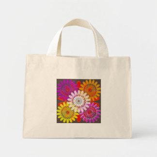 TOTE tiny DIY flowers Treasure Colorful Mini Tote Bag