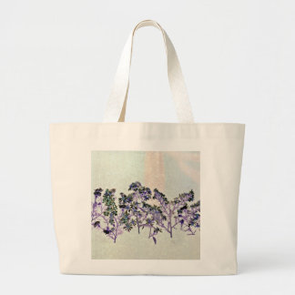 Tote With Floral Design