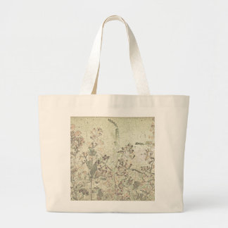 Tote With Late Summer Flowers