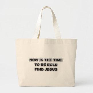 Tote With Unique Christian Quote