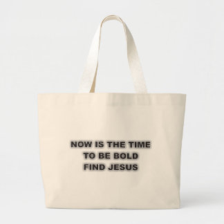 Tote With Unique Christian Quote Jumbo Tote Bag