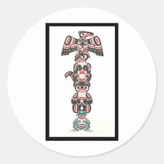 Totem Classic Round Sticker