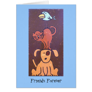 Totem friends card