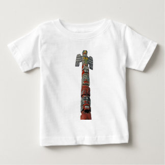 Totem pole carved from cedar baby T-Shirt