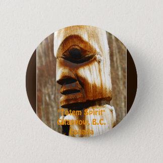 TOTEM SPIRIT Art Collection 2 Inch Round Button