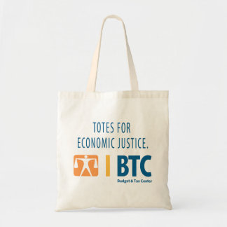 """Totes for Economic Justice"" tote bag"