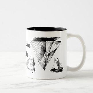 Totes Ma Boats mug