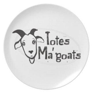 Tote's Ma' Goats Plate