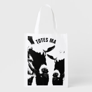 TOTES MAGOTES Reusable Grocery Shopping Bag Grocery Bags