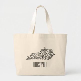 Totes Y'all Kentucky-themed Jumbo Tote