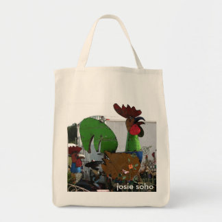 Toto We're Not In Soho Anymore Grocery Tote Bag