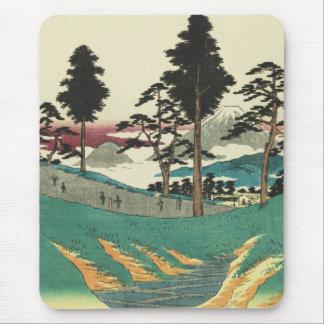 Totsuka, Japan: Vintage Ukiyo-e Woodblock Print Mouse Pad