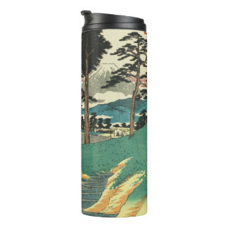 Totsuka, Japan: Vintage Woodblock Print Thermal Tumbler