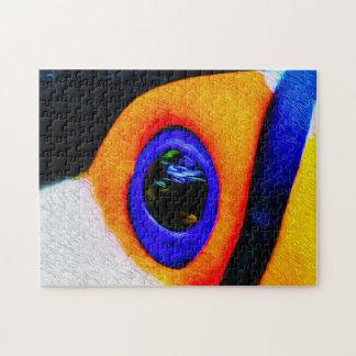 Toucan 02 Digital Art - Photo Puzzle