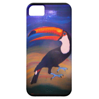 Toucan 2Can! handpainted iPhone 5 Case