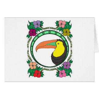 Toucan Bird Card