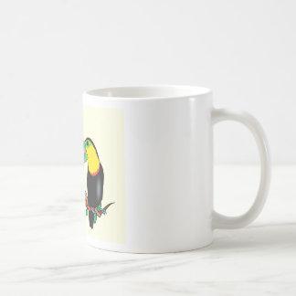 Toucan bird love art coffee mug