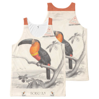 Toucan Bird Responsible Travel Art