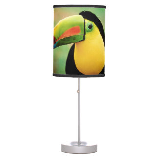 Toucan Bird Wild Nature Colorful Photography Table Lamp