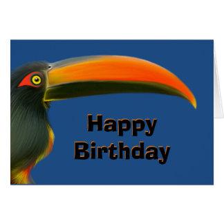 Toucan Birthday Card
