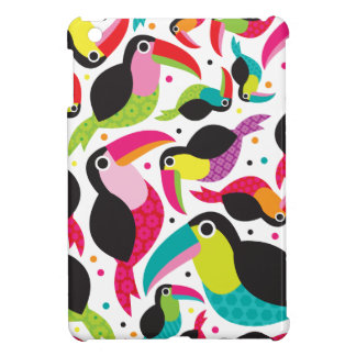 Toucan brazil retro kids pattern iPad mini case