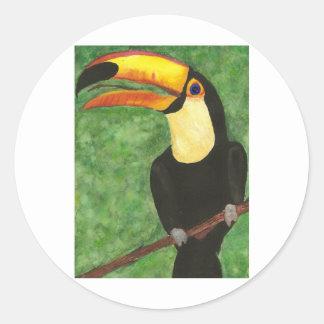 Toucan Classic Round Sticker