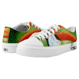 Toucan collage-toucan  art - collage art Low-Top sneakers