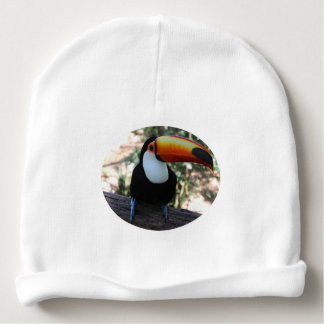 Toucan Custom Baby Cotton Beanie Baby Beanie