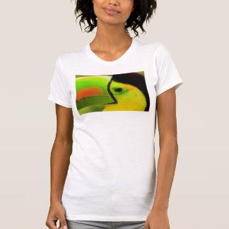 Toucan face close up, Belize T-Shirt