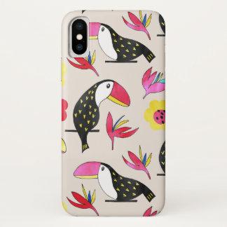 Toucan floral Phone Case