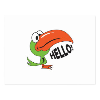 TOUCAN HELLO POST CARDS