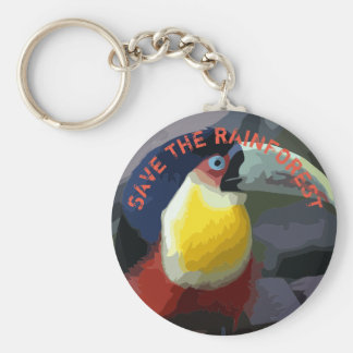 Toucan Keychain