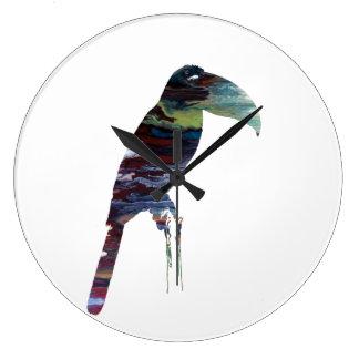 Toucan Large Clock