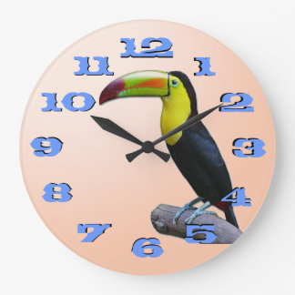 Toucan Large Clock