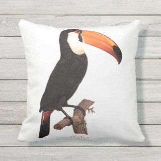 Toucan No. 2 Outdoor Pillow