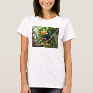 Toucan on Branch Bird Costa Rica T-Shirt