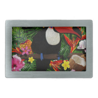 Toucan Rectangular Belt Buckle