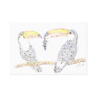 Toucan Share Canvas Print