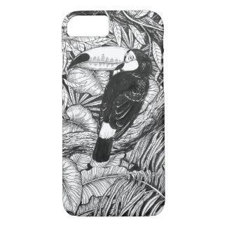 Toucan tropical garden iPhone 8/7 case
