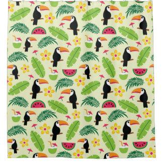 Toucan Tropical Summer Pattern