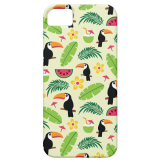 Toucan Tropical Summer Pattern iPhone 5 Case