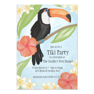 Toucan Watercolor Card