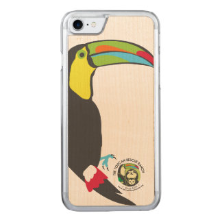 Toucan Wooden Phone Case
