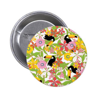 toucans 2 inch round button